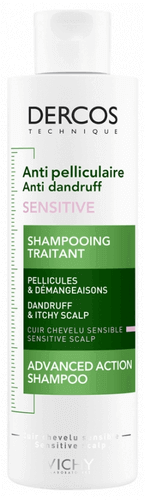 VICHY DERCOS Anti-Schuppen Sensitive Intensiv Shampoo