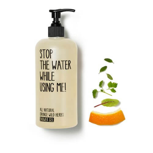 Stop the water while using me All Natural Orange Wild Herbs Shower Gel 200 ml