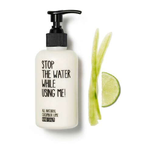 Stop the water while using me All Natural Cucumber Lime Hand Balm - 200ml