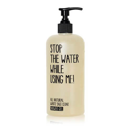Stop the water while using me All Natural White Sage Cedar Shower Gel 500 ml