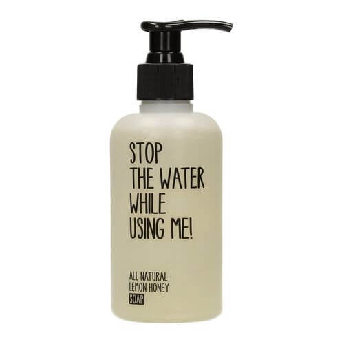 Stop the water while using me All Natural Lemon Honey Soap GOOD WATER PROJECTS