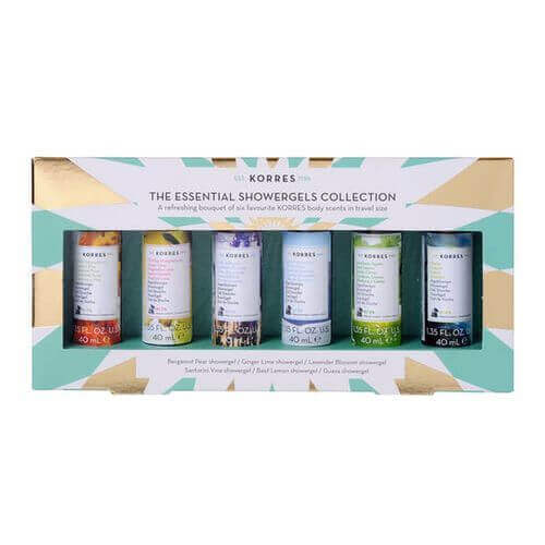KORRES Beauty Essentials Kit Showergels Mini Collection
