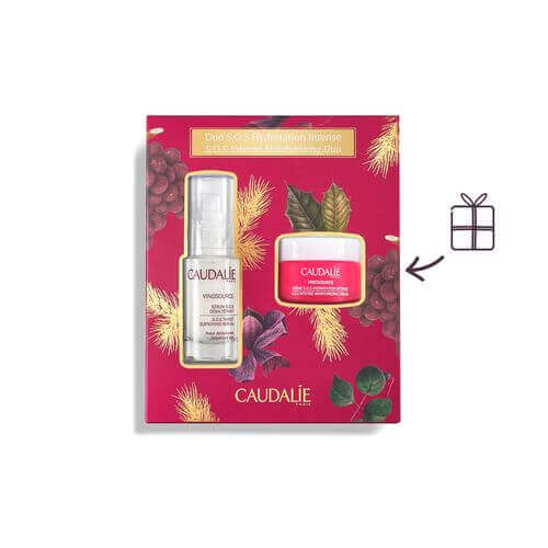 CAUDALIE Vinosource S.O.S. Feuchtigkeitsserum Duo S.O.S Hydratation Intense