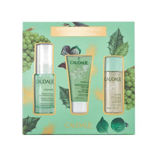 CAUDALIE Vinopure Infusion Serum Set Mission Anti-imperfections