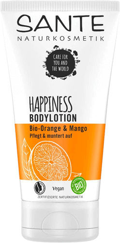 Sante HAPPINESS Bodylotion Bio-Orange & Mango