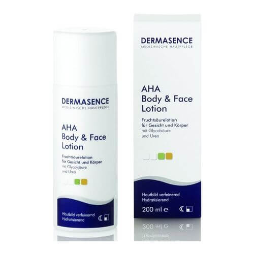 DERMASENCE AHA body and face Lotion