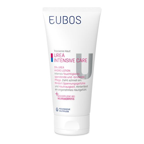 EUBOS TROCKENE HAUT Urea Intensive Care 5% Urea Hydro Lotion
