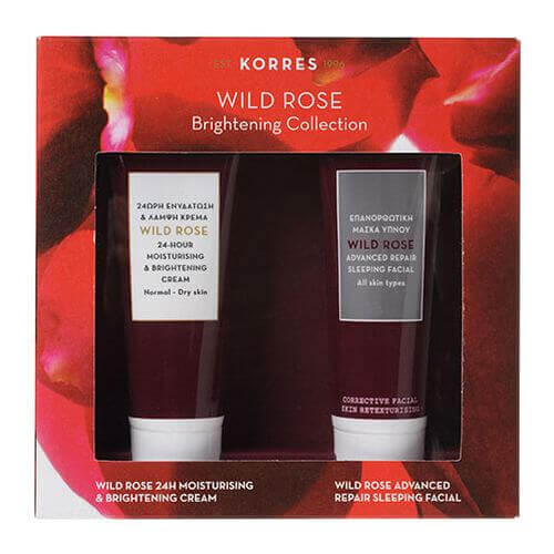 KORRES WILD ROSE Brightening Collection