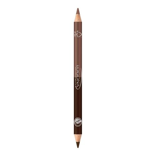 Logona Double Eyeliner Pencil 01 coff
