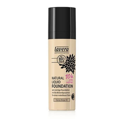 LAVERA Natural Liquid Foundation 04 honey beige