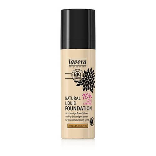 LAVERA Natural Liquid Foundation 06 almond caramel