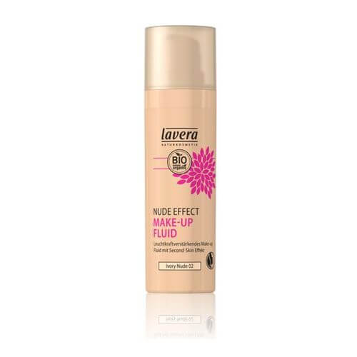 LAVERA Nude Effect Make-up Fluid 02 ivory nude