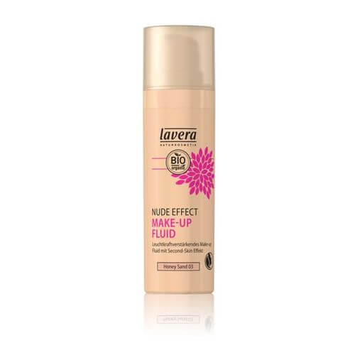 LAVERA Nude Effect Make-up Fluid 03 honey sand