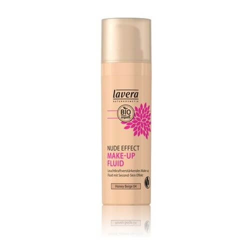 LAVERA Nude Effect Make-up Fluid 04 honey beige