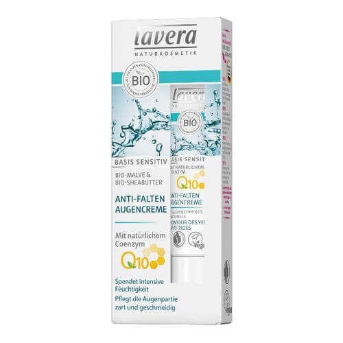 LAVERA basis sensitiv Augencreme Q10 dt