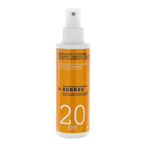 KORRES SUNSCREEN Face & Body Emulsion Yoghurt SPF 20
