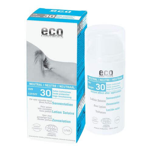 ECO COSMETICS Sonnenlotion Bio LSF 30 neutral/ohne Parfum