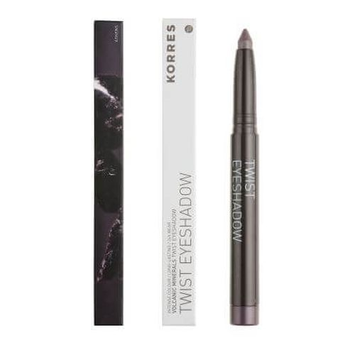 KORRES Black Volcanic Minerals Twist Eyeshadow Stick 33 Grey brown
