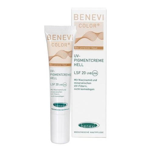 BENEVI Color UV-Pigmentcreme hell LSF 20