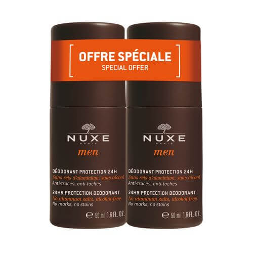 NUXE Men Deodorant Protection 24h Duo