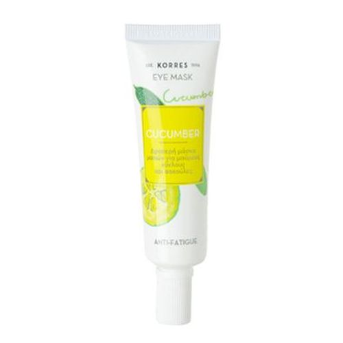 KORRES CUCUMBER anti-fatigue eye mask