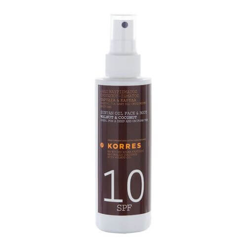 KORRES WALNUT+COCONUT SPF 10 Spray