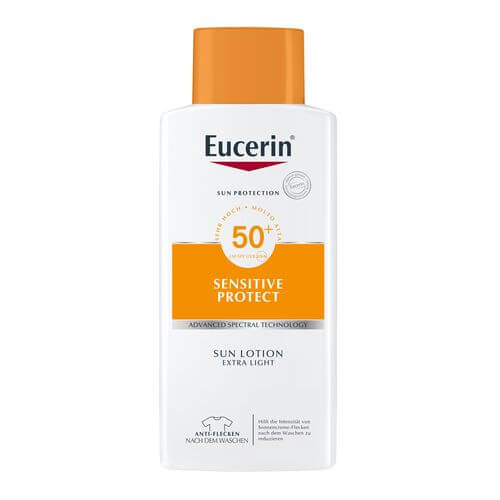 EUCERIN Sensitive Protect Sun Lotion Extra Light LSF 50+ Sondergröße
