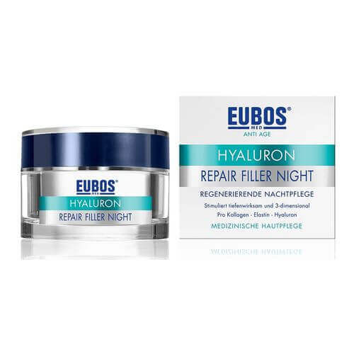 EUBOS HYALURON Repair Filler Night Creme GRATISPROBE