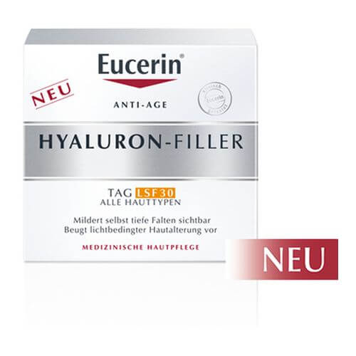 EUCERIN Anti-Age Hyaluron-Filler Tagespflege LSF 30