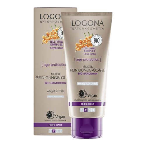 Logona AGE PROTECTION mildes Reinigungs-Öl-Gel