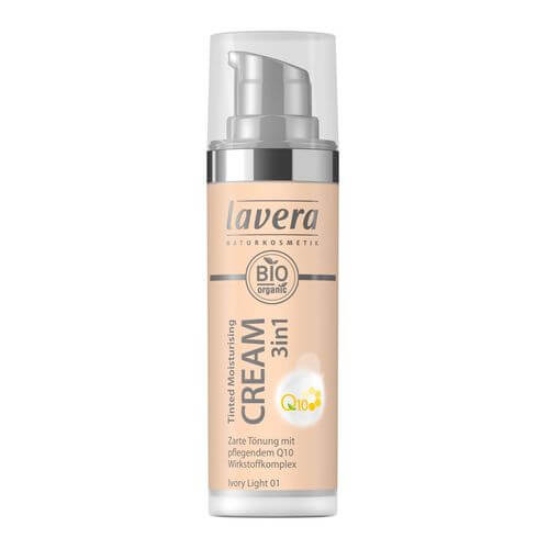 LAVERA Tinted moisturising Cr.3in1 Q10 01 iv.light