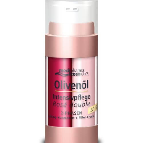 Medipharma Cosmetics OLIVENÖL INTENSIVCREME Rose double