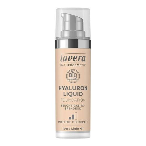 LAVERA Hyaluron Liquid Foundation 01 Ivory light
