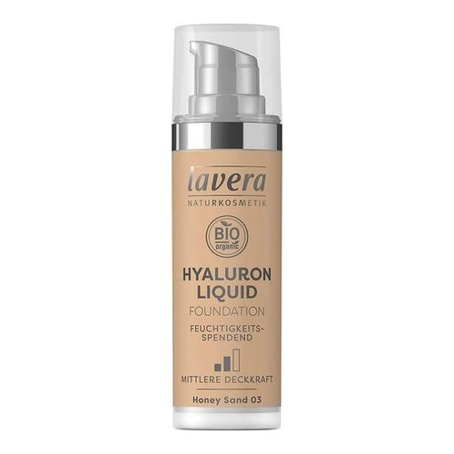 LAVERA Hyaluron Liquid Foundation 03 Honey sand