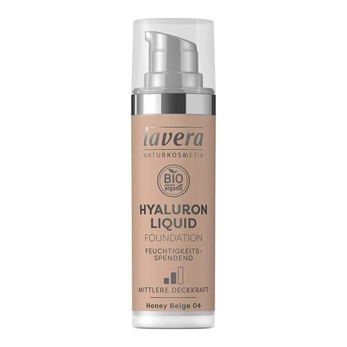 LAVERA Hyaluron Liquid Foundation 04 Honey beige