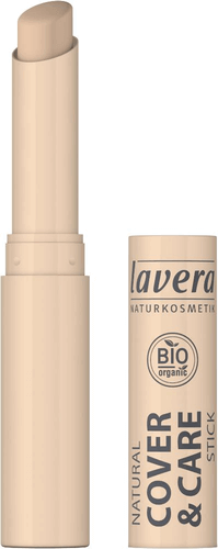 LAVERA cover & care Stick 01 ivory