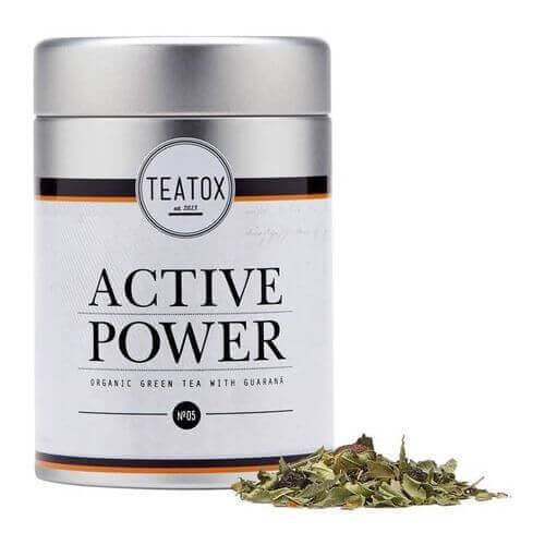 Teatox ACTIVE POWER Organic green Tea with Guarana Dose
