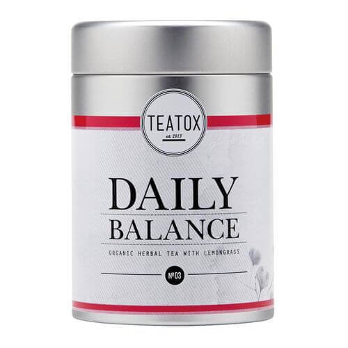 Teatox DAILY BALANCE Organic Herbal Tea Dose
