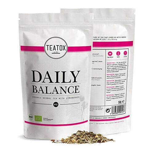 Teatox DAILY BALANCE  Organic Herbal Tea Refill