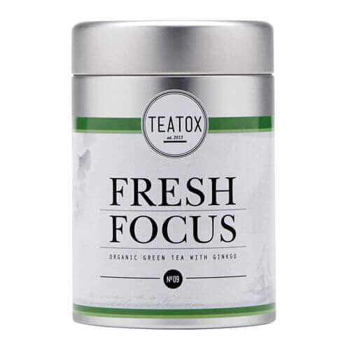 Teatox FRESH FOCUS Organic green Tea with Ginkgo Dose