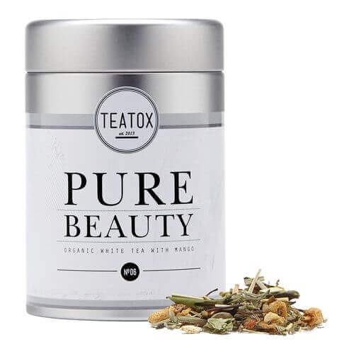 Teatox PURE BEAUTY Organic white Tea Dose