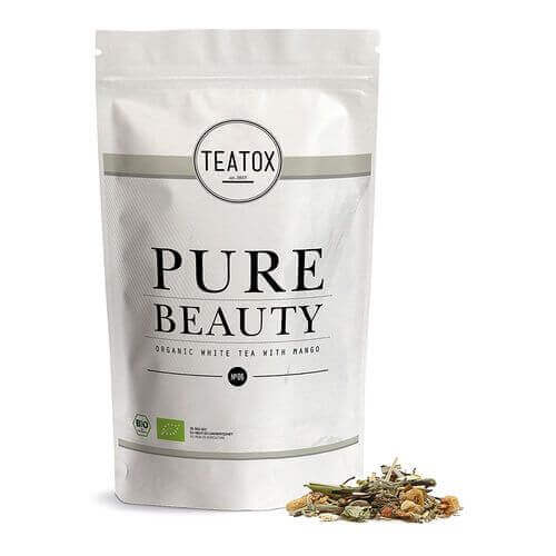 Teatox PURE BEAUTY Organic white Tea with Kamille Refill
