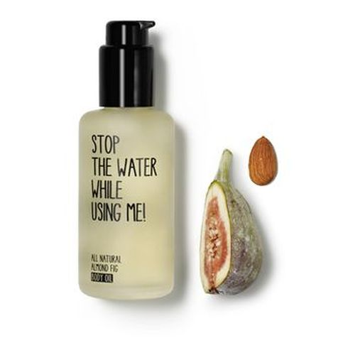 Stop the water while using me All Natural Almond Fig Body Oil 100 ml