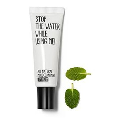Stop the water while using me All Natural Moroccan Lip Balm